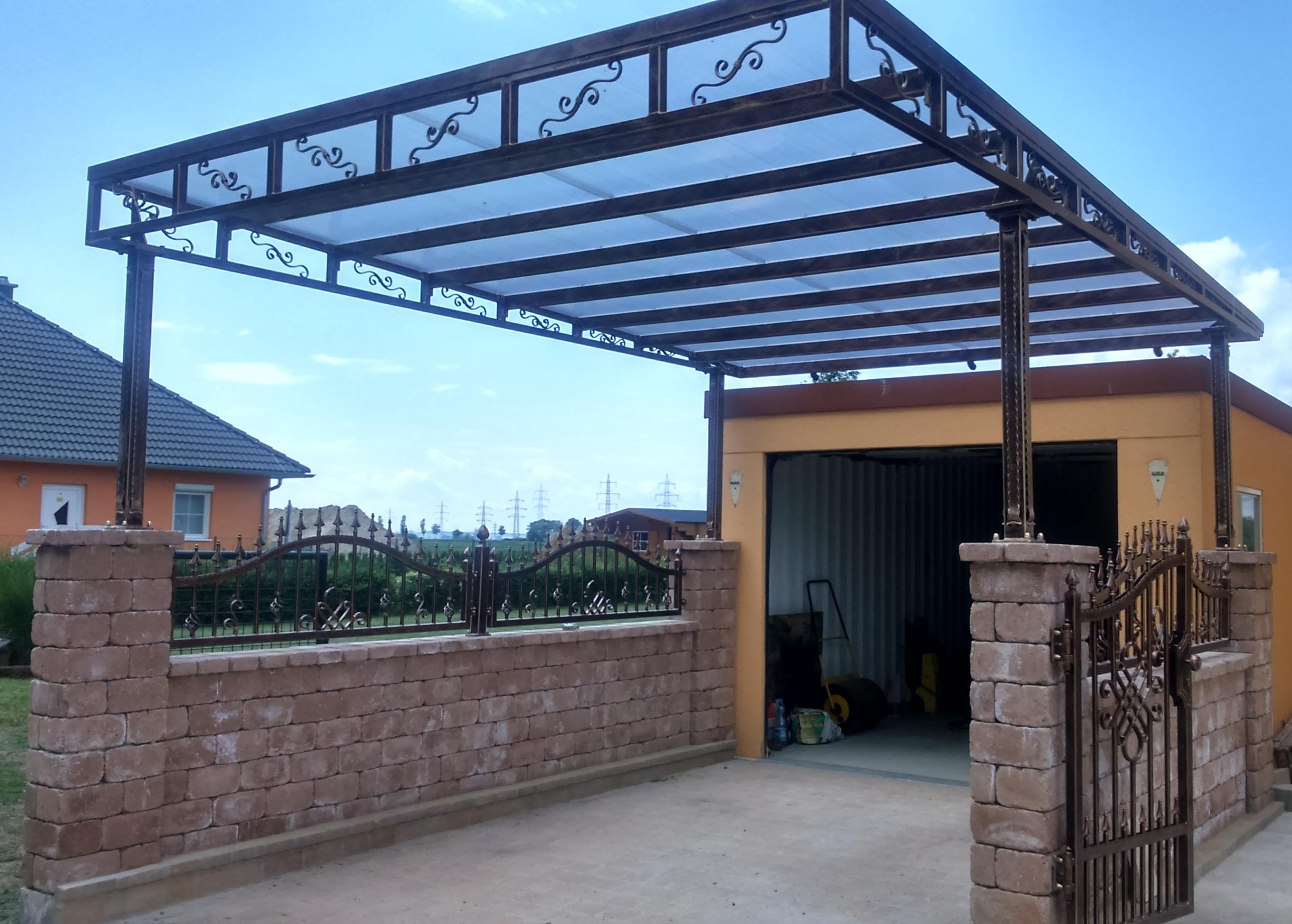 Vordach | Stahl- und Metallbau | BIMETAL S.C. | Stahl und Metall ...